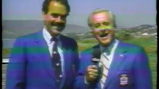Photo of Olympics – 1984 – L A Games – Rowing – Curt Gowdy + Steve Gladstone Discuss Upcoming Womens Races