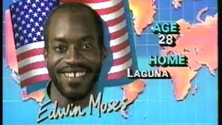 Photo of Olympics   1984   L A Games   Special   Profile Of Life & Career Of USA 400m Hurdles Gold Medalist E