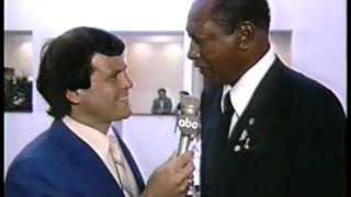 Photo of Olympics – 1984 – L A Games – L A Mayor Tom Bradley Remembers The 1932 L A Games In interview With Mike Eruzione