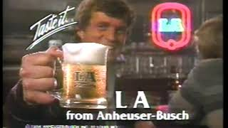 Photo of TV Ads – 1984 – Nuprin Pain Relief + L A Beer + American Express Card + Sears Stores + McDonalds