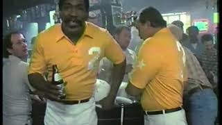 Photo of TV Ads – 1984 – Levi 501 Jeans + United Airlines + Johnson Controls + Dick Butkus For Lite Beer