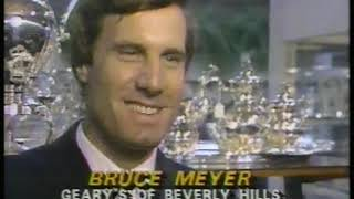 Photo of Olympics – 1984 – L A Games – Stone Phillips Report On Local Merchants Success During Olympic Games
