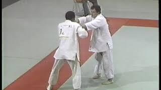 Photo of Olympics – 1984 – L A Games – Judo – Extra Lightwt Bronze Medal Match – USA Edward Liddie Vs FRA Guy Delvingt