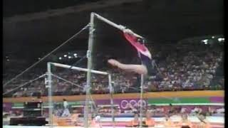 Photo of Olympics – 1984 – L A Games – Gymnastics – Womens All Around Uneven Bars Competition   CHN Ma Yanhon