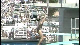 Photo of Olympics – 1984 – L A Games – Diving – Womens Springboard Prelims – Dive 9 – CAN Debbie Fuller
