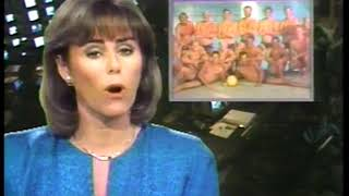 Photo of Olympics – 1984 – L A Games – Kathleen Sullivan On The Hugely Successful Water Polo Posters For Sale