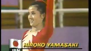 Photo of Olympics – 1984 – L A Games – Rhythmic Gymnastics 3rd Event – JPN Hiroko Yamasaki