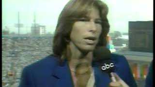 Photo of Olympics – 1984 – L A Games – Track – Al Michaels + Jane Frederick Discuss The Womens Heptathlon