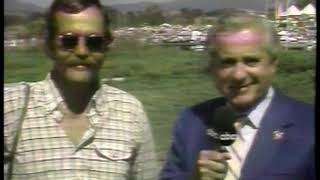 Photo of Olympics – 1984 – L A Games – Curt Gowdy Interviews USA Rowing Womens Eights Coach Bob Ernst