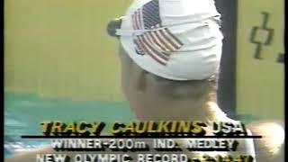 Photo of Olympics – 1984 – L A Games – Swimming – Women 200m Individual Medley – Heat 4 – USA Tracey Caulkins
