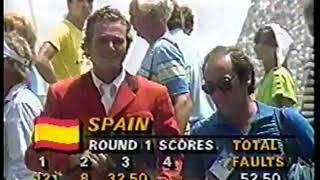 Photo of Olympics – 1984 – L A Games – Equestrian Team Show Jump Rnd 1 – ESP Luiz Astolfi + Feinschnitt 2