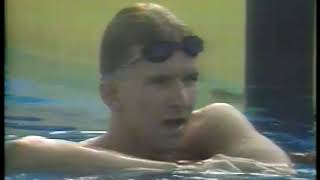 Photo of Olympics – 1984 – L A Games – Swimming – Mens 200m Butterfly – Heat 5 – FRG Michael Gross – New OR