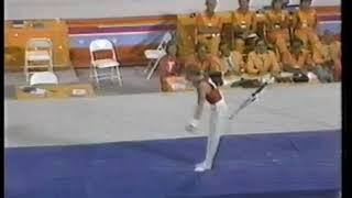 Photo of Olympics – 1984 – L A Games – Gymnastics – Mens Individual Horizontal Bar Finals – USA Peter Vidmar