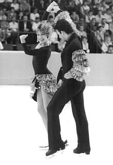 Photo of Figure Skating – 1986 – World Championship – Ice Dancing Competition – CAN Tracy Wilson + Rob McCall