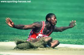 Photo of Olympics – 1984 – L A Games – Track & Field – Mens Triple Jump – USA Al Joyner – 1st Jump