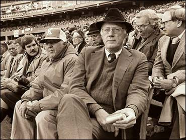 Photo of MLB – 1980 – Audrey Kates Interview Commissioner Bowie Kuhn Regarding Drawing More Blacks Into MLB