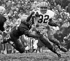 Photo of NFL – 1982 – NFL Films – Best Ever Running Back – With Gayle Sayers + O J Simpson + Jim  Brown