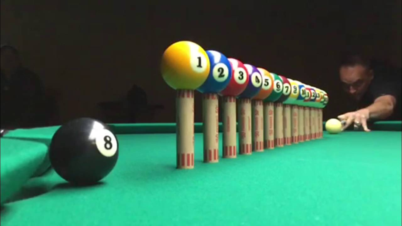 Photo of Pool – 1980 – ABC Wide World Of Sports – Howard Cosell Hosts The World Pool Trick Shot Extravaganza