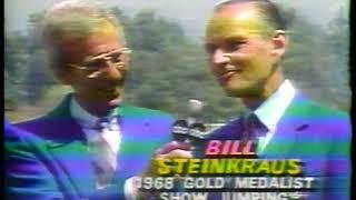Photo of Olympics – 1984 – L A Games – Equestrian Analysis – Tad Coffin + Chris Schenkel + Bill Steinkraus