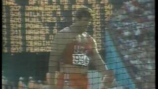 Photo of Olympics – 1984 – L A Games – Track & Field – Mens Discus Final Throw – USA John Powell