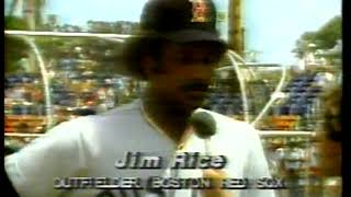 Photo of MLB – 1980 – Audrey Kates Interview Red Sox Jim Rice On What Its Like Being Only Black On MLB Roster