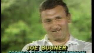 Photo of Boxing – 1983 – Tim Ryan Interviews Joe Bugner & Wife Marlene On 10 Rnd Heavywt Marvis Frazier Bout