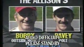 Photo of Auto Racing – 1987 – 2nd Twin 125 Qualifiers Highlights – With Chris Economaki + Ken Squiers