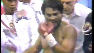 Photo of Boxing – 1980 – Howard Cosell Recounts NO MAS In Postfight Interview Of Duran Trainer Luis Hernandez