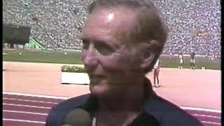 Photo of Olympics – 1984 – L A Games – Track – Dr Robert Leach Interview On Joan Benoit's Comeback From Pre-Olympics Surgery