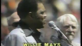 Photo of MLB – 1982 – This Week In Baseball – Willie Mays Day In SF As Giants Retire # 24 – With Mel Allen