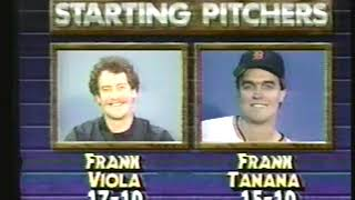 Photo of MLB – 1987 – ALCS – Minnesota Twins Vs Detroit Tigers – Game 4 – PreGame Show With Marv Albert