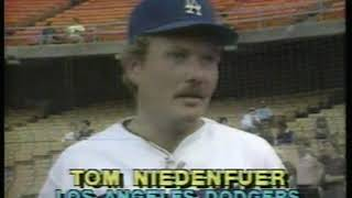 Photo of MLB – April 1983 – This Week In Baseball – Dodgers Go 9 – 0 To Kick Off 1983 Season   With Mel Allen
