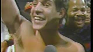 Photo of Boxing – 1983 – Tim Ryan PostFight Interview With Hector Camacho After His 1st Rnd KO Of John Montes