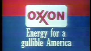 Photo of TV Ads –  1980 – OXXON Energy For A Gullible America