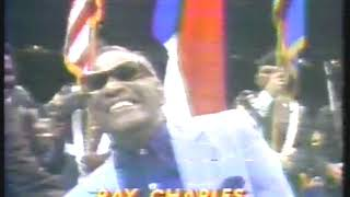 Photo of Music – November 25th 1980 – Ray Charles  – America The Beautiful -Sung At Duran Vs Leonard Welterwt Title Fite II