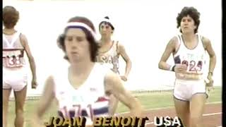 Photo of Olympics – 1984 – L A Games – Track – Prelude To 1st Womens Marathon + Up Close With USA Joan Benoit