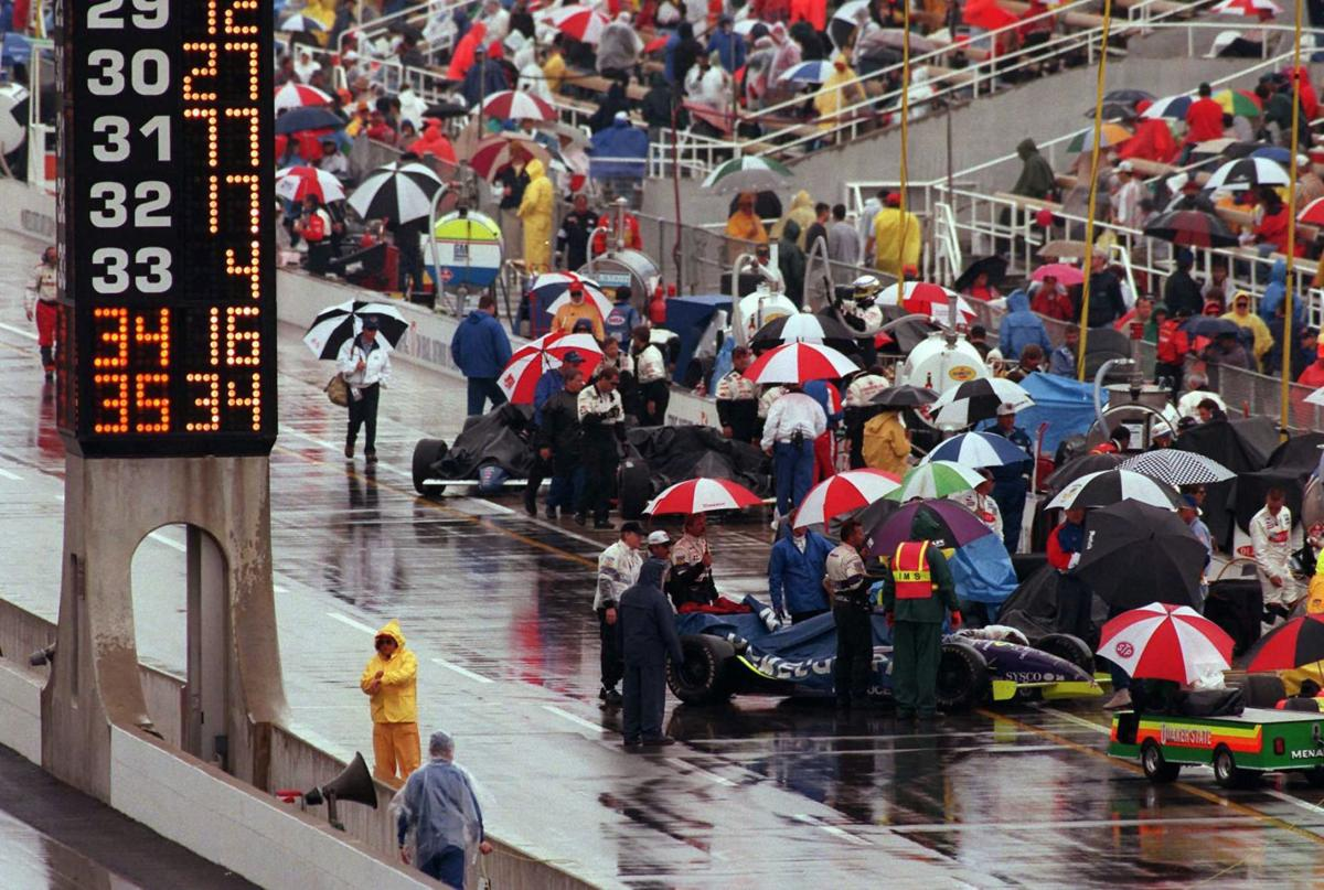 Photo of Auto Racing – 1986 – Indy 500 – Seven Days Late – Jim McKay + Jim Lampley + Sam Posey Thru 41 Laps