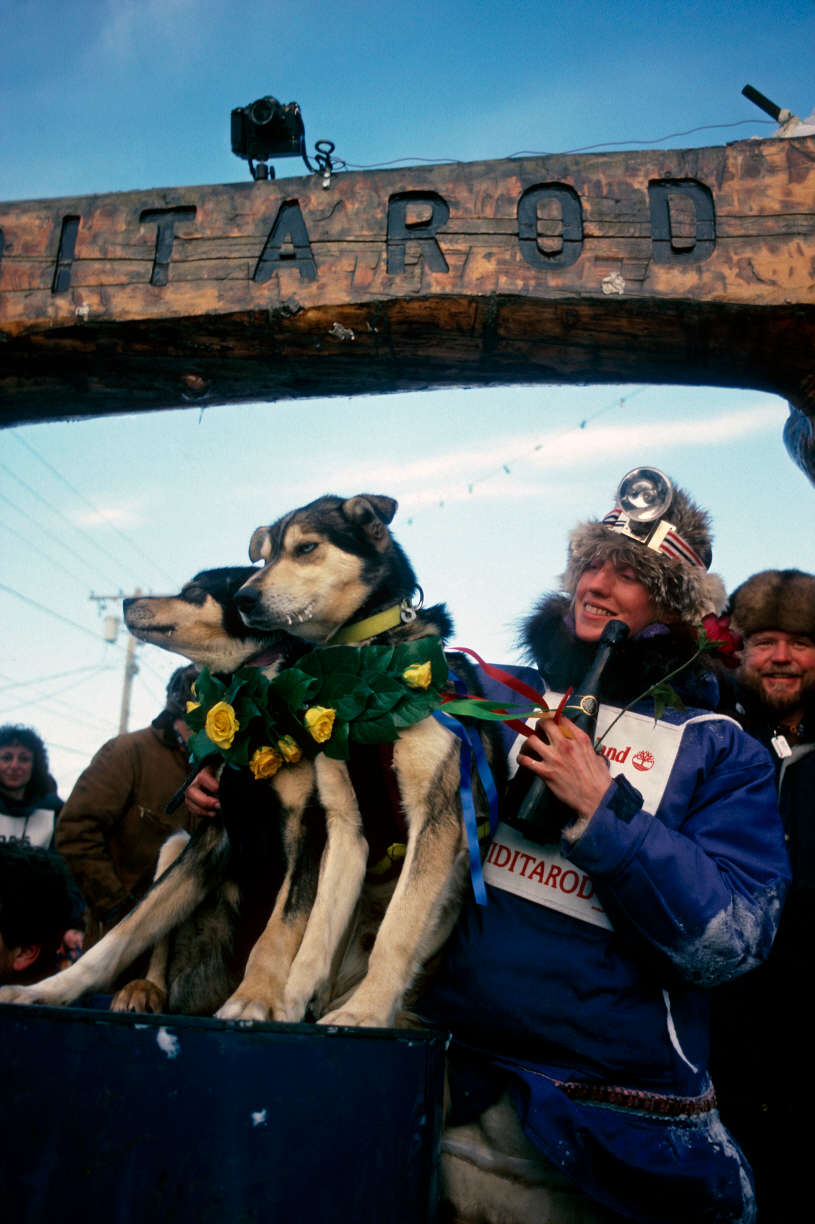 Photo of Dog Sledding – 1985 – The Ididarod – Part 2 – Highlights Of Libby Riddles Becoming 1st Women Winner