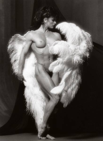 Photo of Body Building – 1986 – I F B B Ms Olympia Championship – Featuring Diana Dennis – With Bruce Jenner