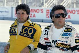 Photo of Auto Racing – 1986 – Indy 500 – Jim McKay Provides Special Look Into Mario + Michael Andretti Racing