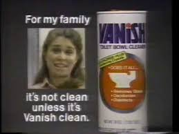 Photo of TV Ads – 1978 – Miracle White Cleaner + Vanish Toilet Bowl Cleaner + Bold Laundry Detergent