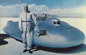Photo of Auto Racing – 1947 – Special Feature – John Cobbs Railton Special Breaks 400mph Land Speed Record