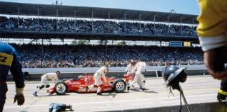 Photo of Auto Racing – 1987 – Indy 500 – Special Feature – Race Leader Roberto Guerrero And The Pit Stop From Hell