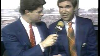 Photo of Auto Racing – 1986 – Indy 500 – Jim Lampley + Sam Posey On The Driving Personality Of Danny Sullivan