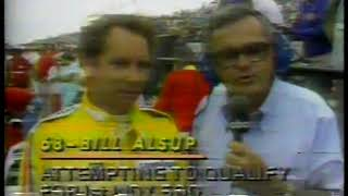 Photo of Auto Racing – 1979 – Indy 500 Trials – Chris Economaki Interviews Bill Alsup On Car Disqualification