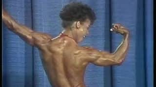 Photo of Body Building – 1985 – Womens World Championships – Featuring Erica Mes – With Bruce Jenner