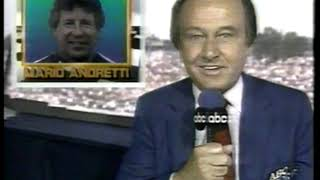 Photo of Auto Racing – 1987 – Indy 500 – Host Jim McKay Provides Coverage Of First 120 Laps Of The Indy 500