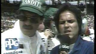 Photo of Auto Racing – 1986 – Indy 500 – The Race Laps 1 Thru 40 – With Jim Lampley + Sam Posey + Jim McKay
