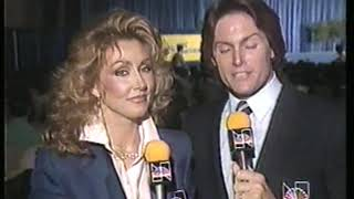 Photo of Body Building – 1985 – IFBB Womens World Championships – Introduction With Bruce Jenner + Frank Zane