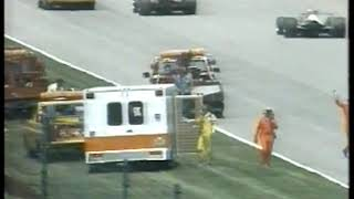 Photo of Auto Racing – 1986 – Indy 500 – The End Of The Day For Driver Johnny Parsons – With Jim Lampley